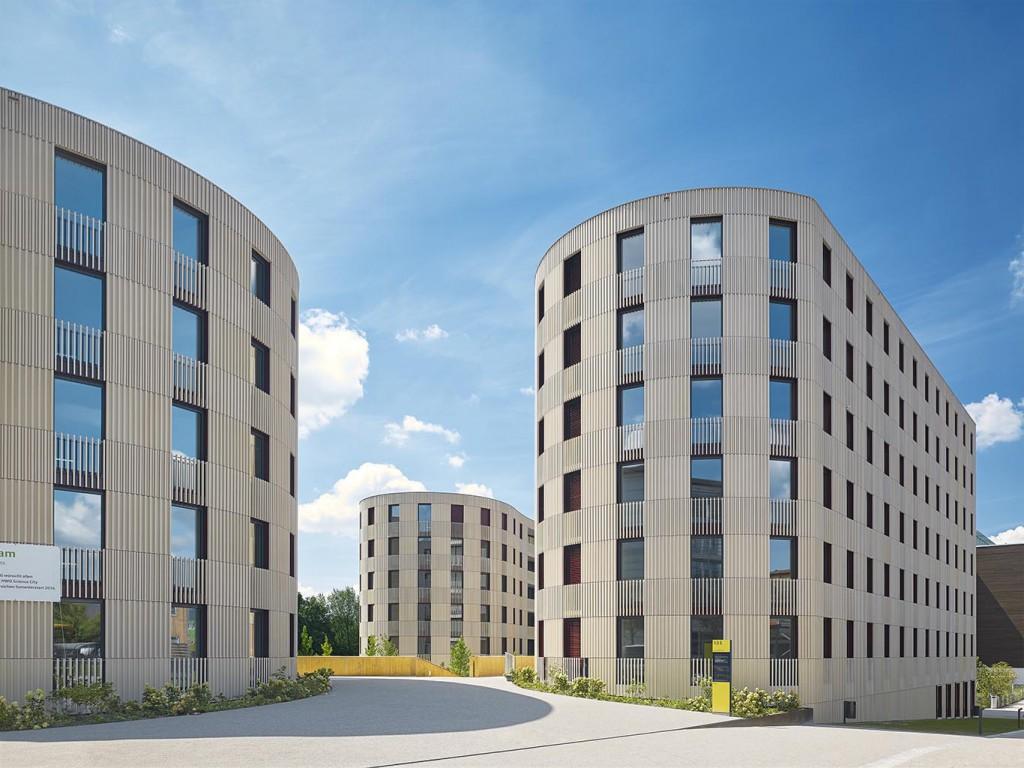 Neubau eines Studentenwohnheimes auf dem Campus Hönggerberg an der ETH Zürich