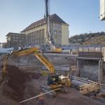 Talquerung; Neubau eines Bahnhofes