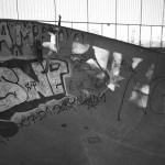 Einhausung Skaterparkanlage am Pragfriedhof