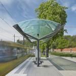 SSB Haltestelle/ Vorplatz Wilhelma